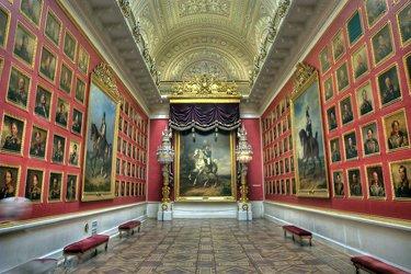 Il Museo dell'Ermitage di San Pietroburgo