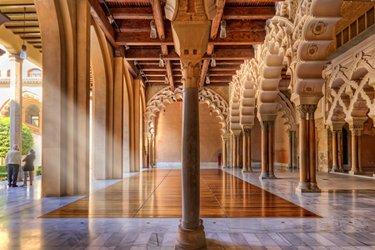 Il Palazzo dell'Aljafería di Saragozza