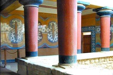 Il Palazzo di Knosso a Creta