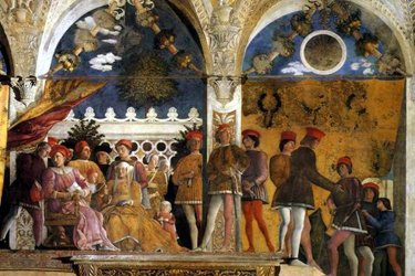 La Camera degli Sposi nel Palazzo Ducale di Mantova