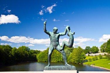 Parco di Vigeland a Oslo