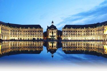 Piazza della Borsa a Bordeaux