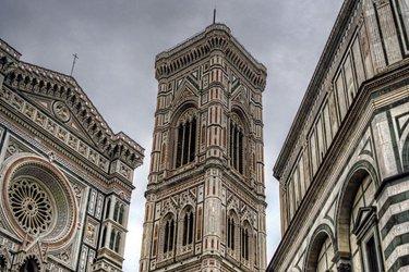 Duomo, Campanile di Giotto, Battistero e Cupola del Brunelleschi a Firenze