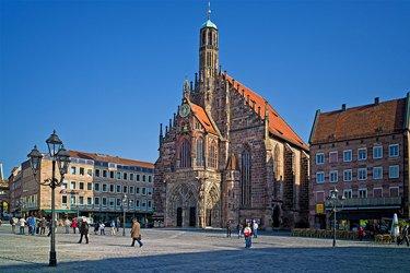 Piazza del Mercato a Norimberga
