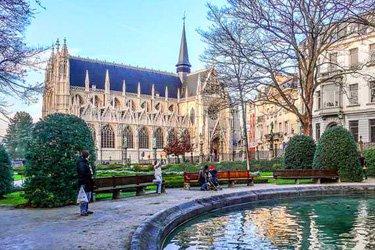 Quartiere du Sablon a Bruxelles