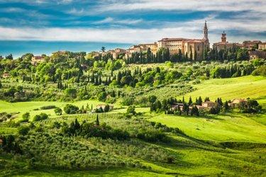 Pienza, dintorni di Siena
