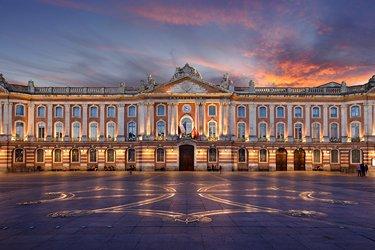 Place du Capitole a Tolosa
