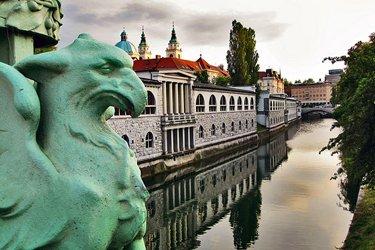 Il Ponte dei Draghi di Lubiana