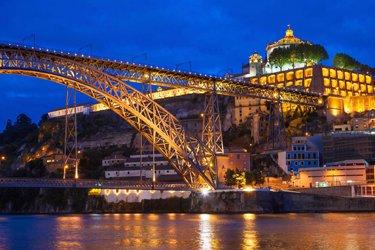 Ponte Dom Luis I a Porto
