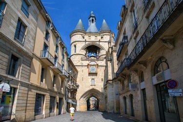 La Porta della Grosse-Cloche a Bordeaux