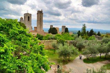 La Rocca di Montestaffoli-a San Gimignano