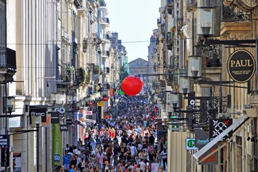 Rue Sainte Catherine a Bordeaux