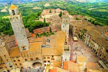 San Gimignano in provincia di Siena