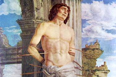 San Sebastiano di Mantegna al Louvre