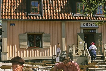 Skansen a Stoccolma