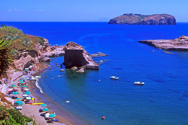 Le spiagge di Ventotene