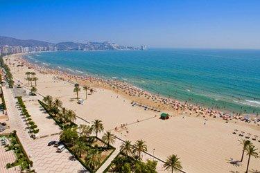 Il porto, le spiagge e la Riserva di Valencia
