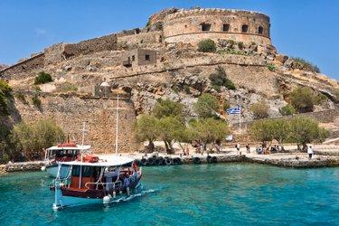 Isola di Spinalonga a Creta