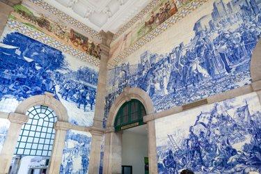 La Stazione di São Bento a Porto