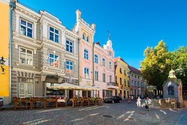 Via Vene e Pikk Tanav a Tallinn