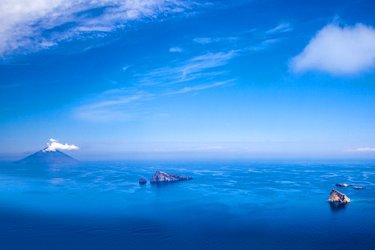 Stromboli alle Isole Eolie.