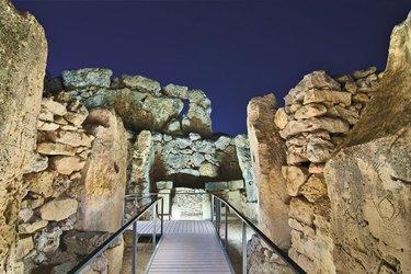 I templi di Ggantija a Gozo, Malta
