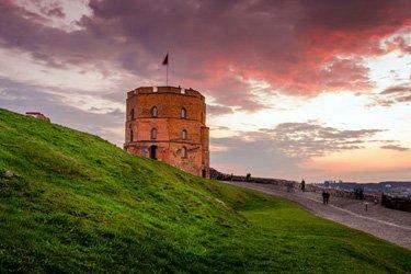 La Torre Gediminas e il Castello di Vilnius