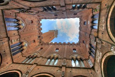 Torre del Mangia a Siena
