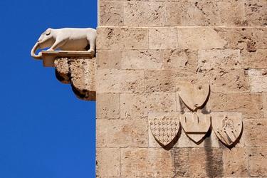 Le Torri dell'Elefante e San Pancrazio a Cagliari