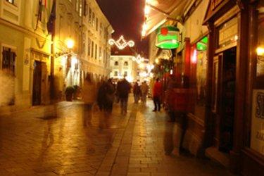Uscire la sera a Bratislava