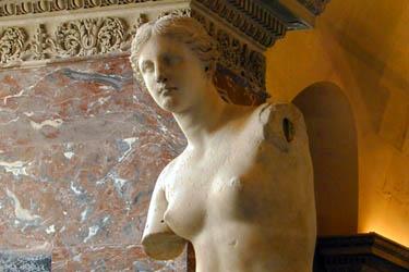 La Venere di Milo e la Sezione Greca