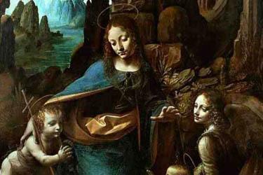 La Vergine delle rocce di Leonardo da Vinci