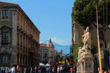 Via Etnea a Catania