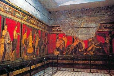 La Villa dei Misteri di Pompei