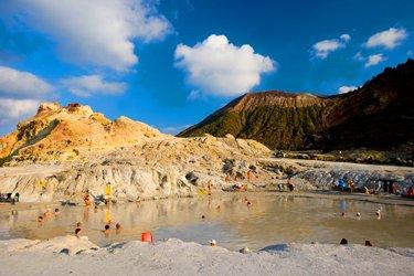Vulcano alle Isole Eolie