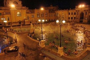 I bagni termali di Budapest