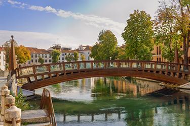 I corsi d'acqua di Treviso