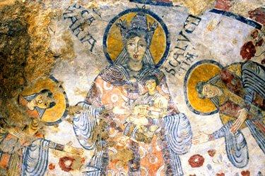 La Cripta del Peccato Originale di Matera