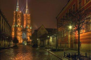 L'Isola della Cattedrale a Breslavia
