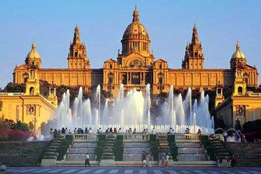 Il Montjuic di Barcellona