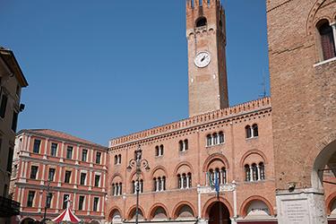 Palazzo del Podestà e Torre Civica a Treviso
