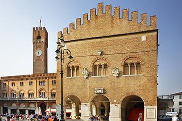 Il Palazzo dei Trecento a Treviso