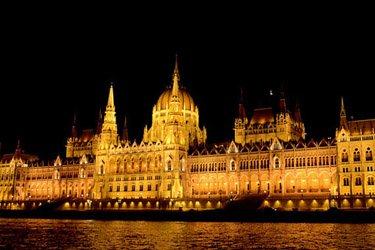 Il Palazzo del Parlamento a Budapest
