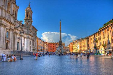 Piazza Navona a Roma