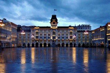 Piazza Unità e Molo Audace a Trieste