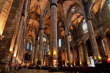 Santa Maria del Mar a Barcellona