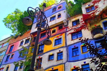 Il mondo di Hundertwasser a Vienna
