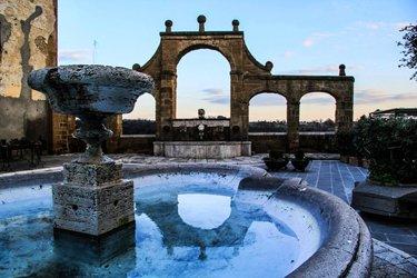 L'Acquedotto Mediceo e la Fontana dei 7 cannelli