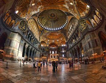 La Moschea Aya Sofia di Istanbul