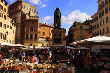 Campo dei Fiori a Roma